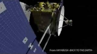 HAYABUSA's seven-year journey in space  Case Studies  for Society