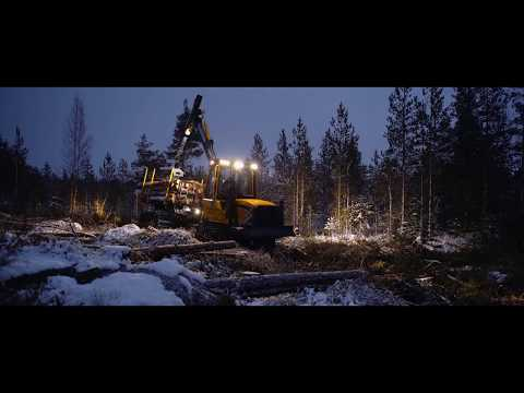 Eco Log E-series Forwarders Presentation - Forestry Service Friendly Logging Machine
