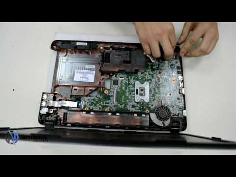 HP 650 - Disassembly and cleaning