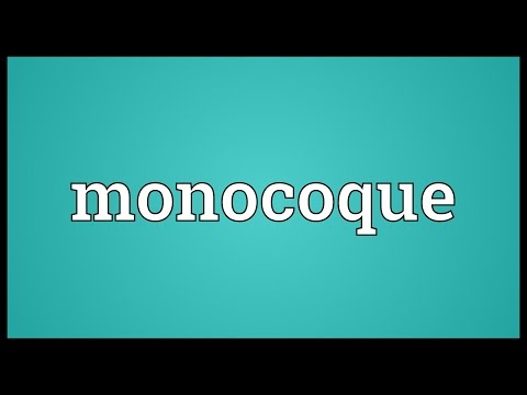 Monocoque Meaning
