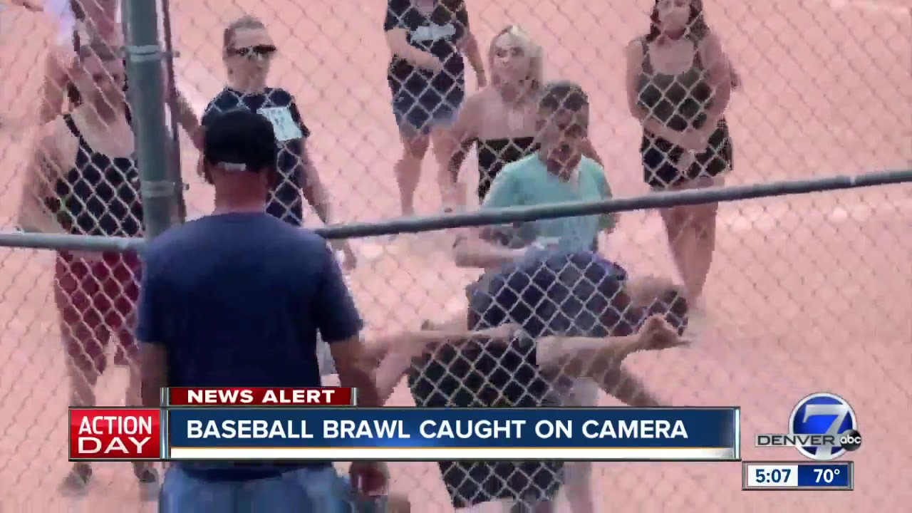 Fight Breaks Out Between White Parents At A Denver Youth Baseball Game