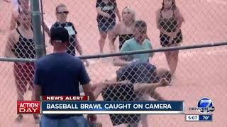 Fight breaks out between parents during youth baseball game in Lakewood