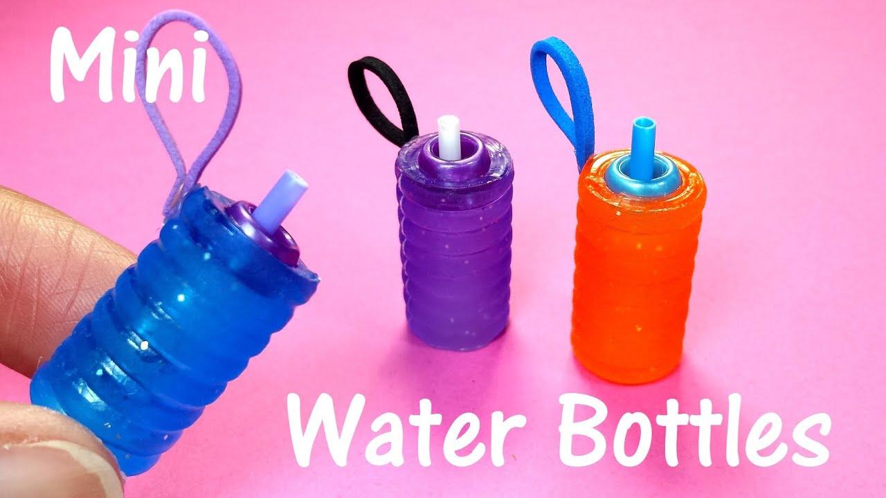 Diy Water Bottle Diy Miniature Doll Working Water Bottles Youtube