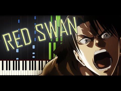 Shingeki No Kyojin Season 3 OP 1 - Red Swan [Piano Tutorial + SHEETS] // Synthesia