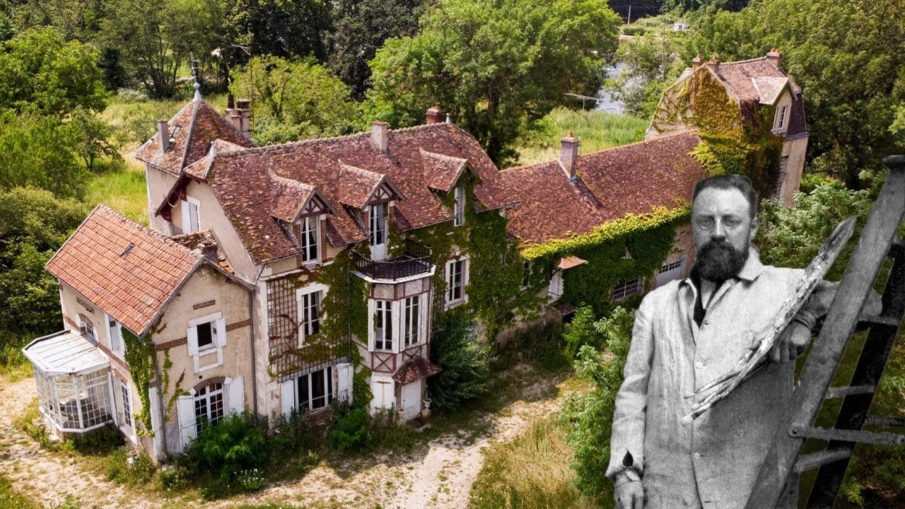 Extravagant Abandoned Starchy Castle of Mister George a French Artist