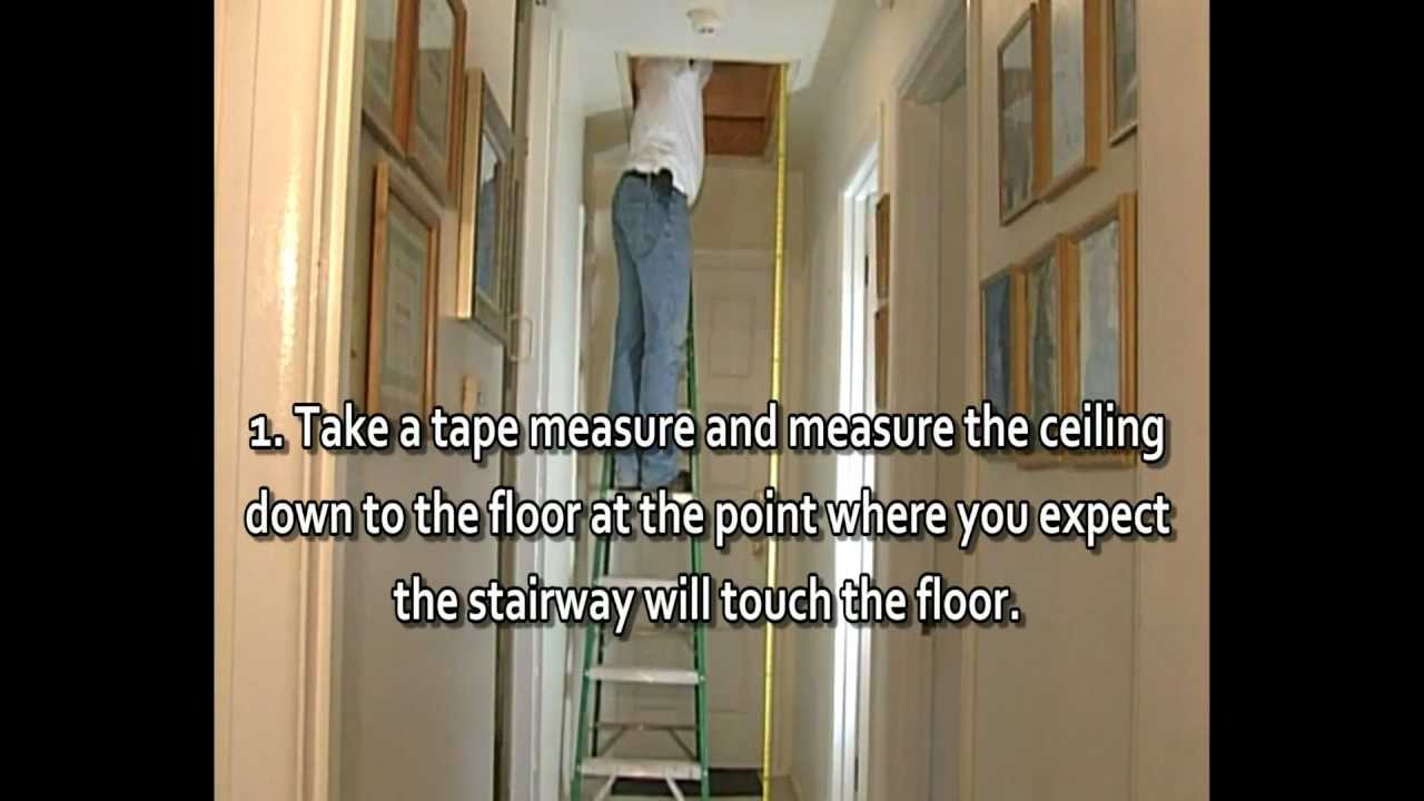 How To Measure Ceiling Height Wmv