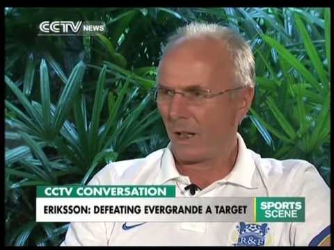 Eriksson Keen to Lead Guangzhou R&F to Glory