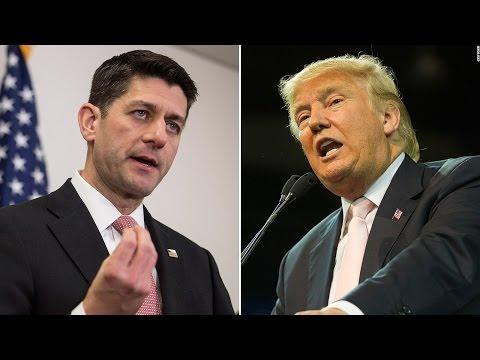 Trump ATTACKS Paul Ryan And Republicans Saying He