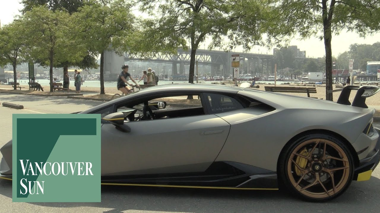 Yes Indeed There Is A Lamborghini Ride Share In Vancouver Youtube