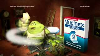 TV Commercial - Mucinex - 12 Hour - Home Security - Fast Acting & Long Lasting