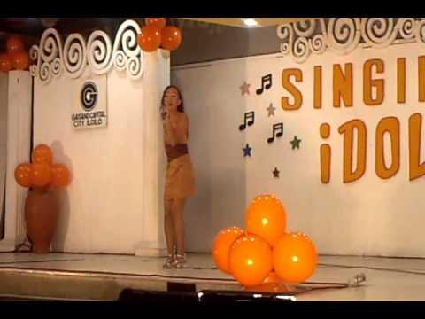Cherry Callao @ Singing Idol Gaisano Capital grand finals part 1