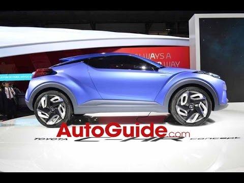 Toyota C-HR Concept - 2014 Paris Motor Show