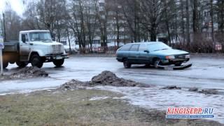 ДТП в Кингисеппе:водитель