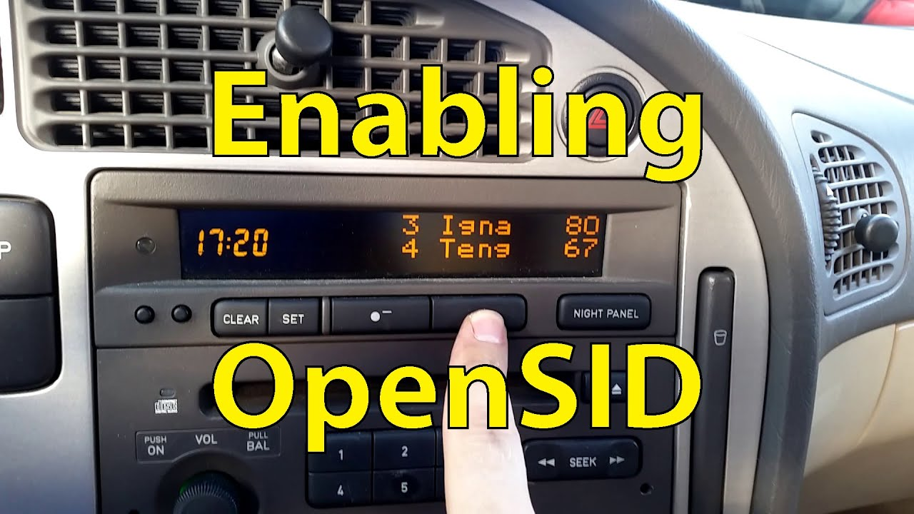 Saab Tuning: Enabling OpenSID - Trionic Seven