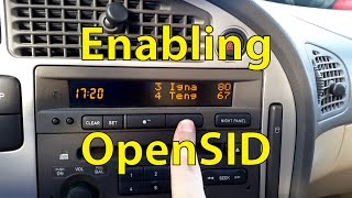 Saab Tuning: Enabling OpenSID - Trionic Seven(This video shows how to enable OpenSID in your T7 Saab 9-5 or Saab 9-3. This video shows the procedure for my Saab 9-5 Aero from 2002. OpenSID allows ..., 2015-09-10T09:19:47.000Z)