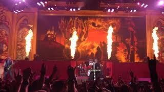 Iron Maiden Sign Of The Cross Live AccorHotels Arena Paris 5 7 2018