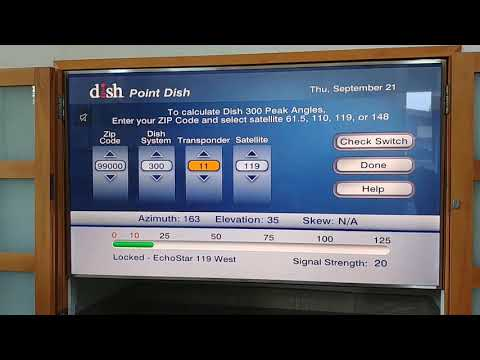 119w Dish Network from costa rica
