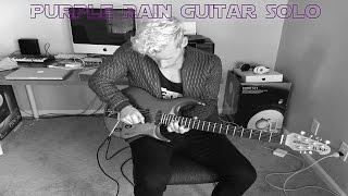 Purple Rain Guitar Solo - Prince Tribute by Alex Alexander