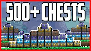 Loot From EVERY Single Chest In Terraria