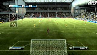 FIFA 12 - Be A Pro Goalkeeper Gameplay
