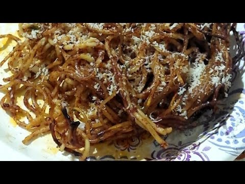Easy syrian spaghetti recipe youtube easy syrian spaghetti recipe vegan food recipes forumfinder