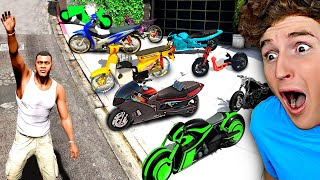 Collecting RARE Billionaire SUPER BIKES In GTA 5.. (Mods)