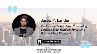 Jared P. Lander - Finding the Tallest Tree: Comparing Decision Tree, Random Forest & Boosted Tree