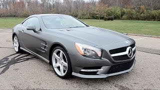 2013 Mercedes-Benz SL550 Roadster - WR TV POV Test Drive