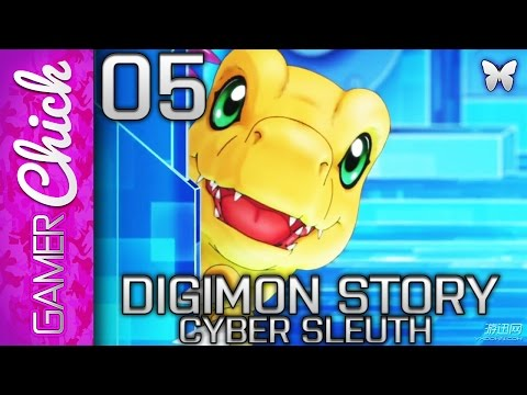 ❋ Digimon Story: Cyber Sleuth - Gameplay/Walkthrough [PART 5] (PS4) w/ GamerChick