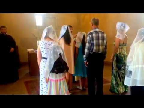 Церковь Святого Григория Просветителя Ереван. Крещение 15.08.18.