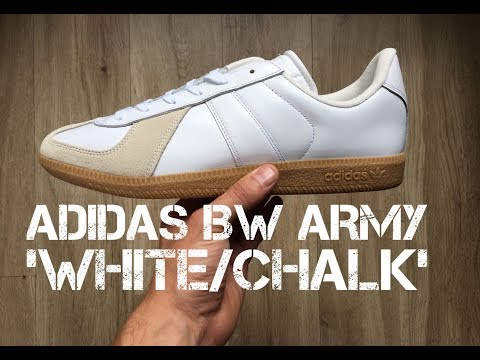 Adidas BW Army 'White/Chalk' | UNBOXING & ON FEET | fashion shoes | brand new 2017 | HD