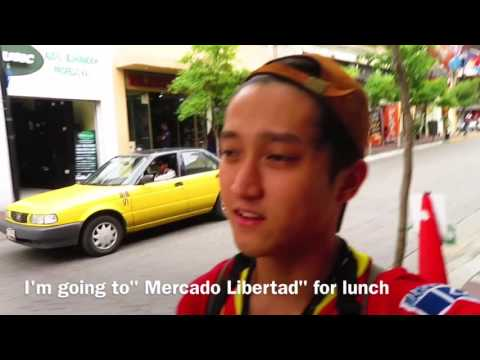 Dancer × Backpacker Shimon owaki , World travel 20 Guadalajara in Mexico city / México  (HD)