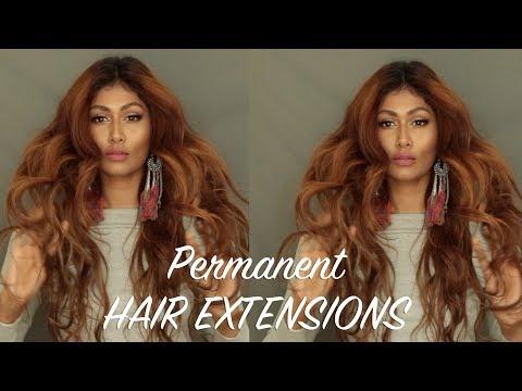 I GOT PERMANENT HAIR EXTENSIONS!!! | KERATIN TIP HAIR EXTENSIONS IN DUBAI | Bosslady Shruti