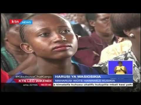 Wakaazi wa Nyeri washuhudia harusi ya kipekee