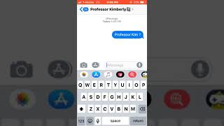 Texting my teacher if she wants to have sex 🤪❗️