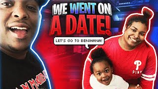 OUR FIRST TIME DOING SOMETHING AS A FAMILY * our official first date *