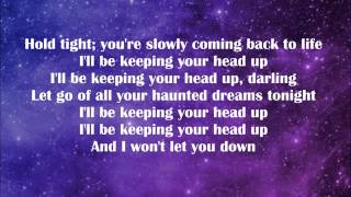 birdy-keeping your head up (lyrics)