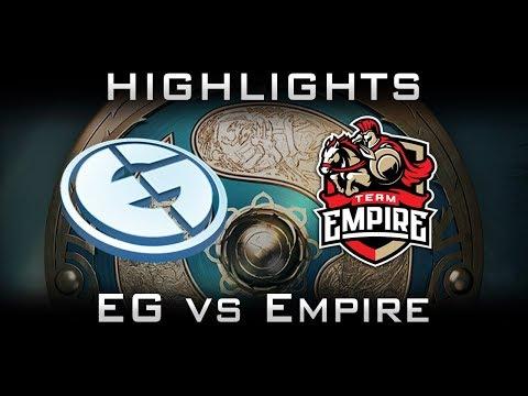 EG vs Empire TI7 Elimination Highlights The International 2017 Dota 2