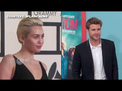 PDA Alert! Miley Cyrus & Liam Hemsworth CAUGHT KISSING On Dinner Date
