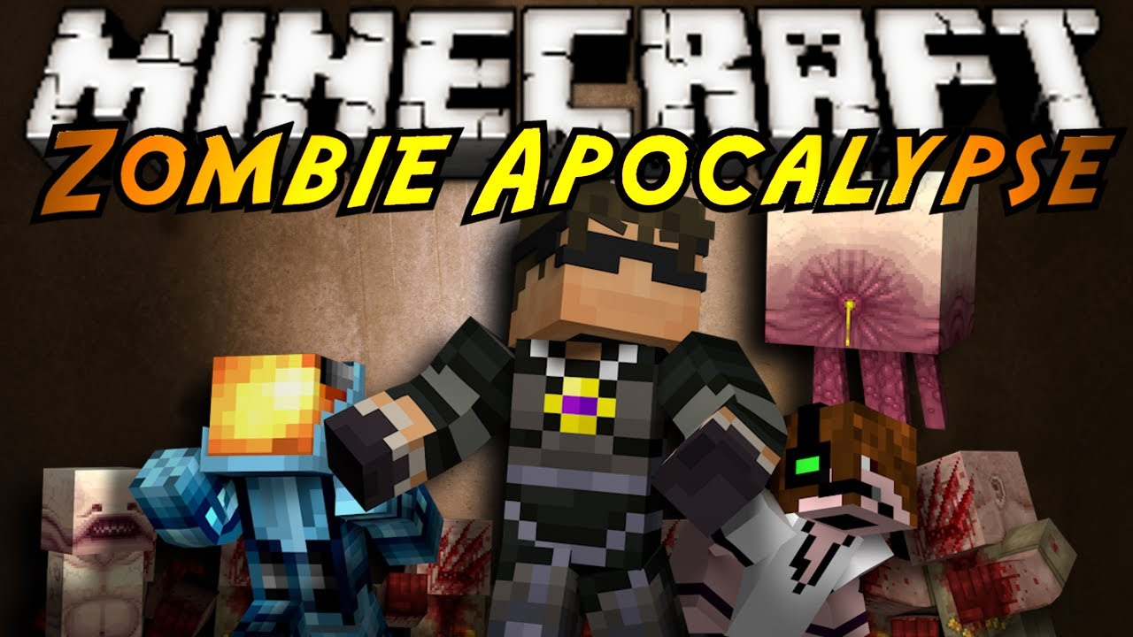minecraft zombie apocalypse part 1 clip fail
