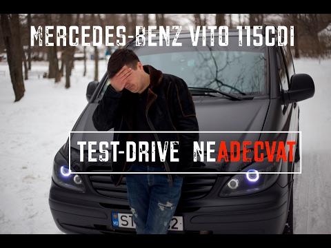 Mercedes-Benz Vito 115CDI | Test-Drive neAdecvat | MAFiA