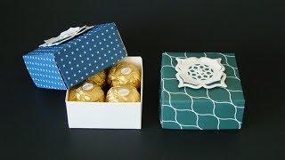Envelope Punch Board Sturdy Box