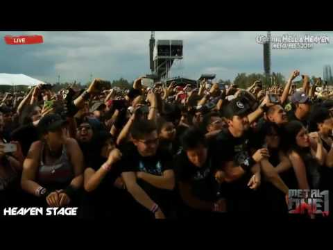Download Amon Amarth The pursuit of vikings (Mejor audio) Hell and heaven 2016 Mp4 baru