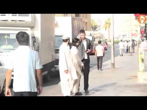 Dropping wallet prank in Dubai...