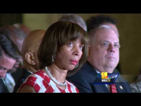 Video: Catherine Pugh becomes Baltimore