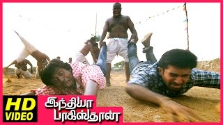 India Pakistan Tamil Movie | Scenes | Pasupathy invites Vijay Antony for fighting competition