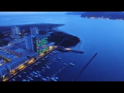 DJI Phantom 3 Standard HD Movie Portugal Comporta Beach and Troia Marina and Resort