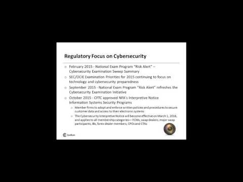 Cybersecurity and the Regulator, A Practical Approach