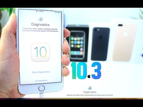 New iOS 10.3 Diagnostic Tool for iOS Devices