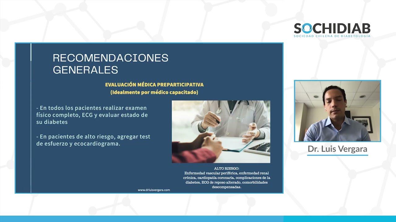 Impacto del Ejercicio en la Diabetes Mellitus tipo 2: Dr. Luis Vergara